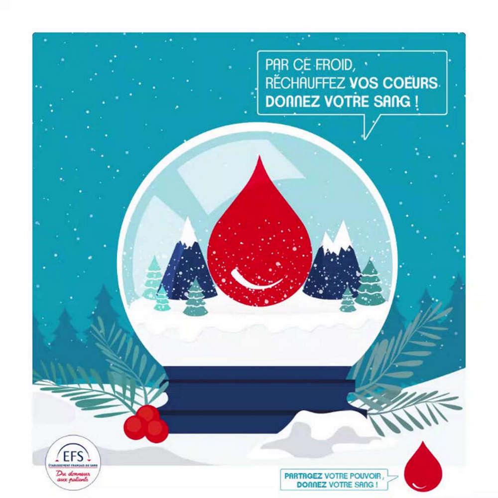 Collecte de sang c