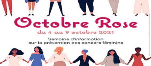 OCTOBRE ROSE du 4 au 9 Octobre 2021